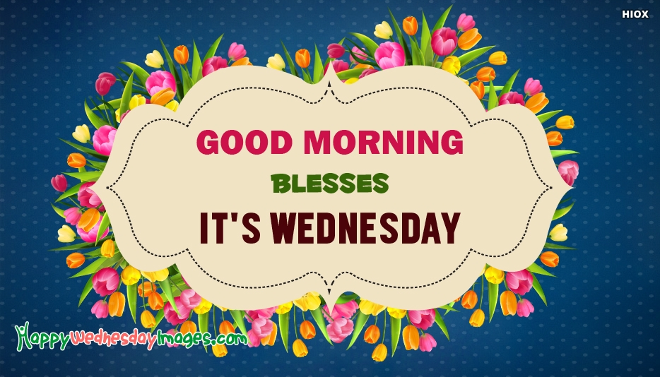 Wednesday Blessings Images