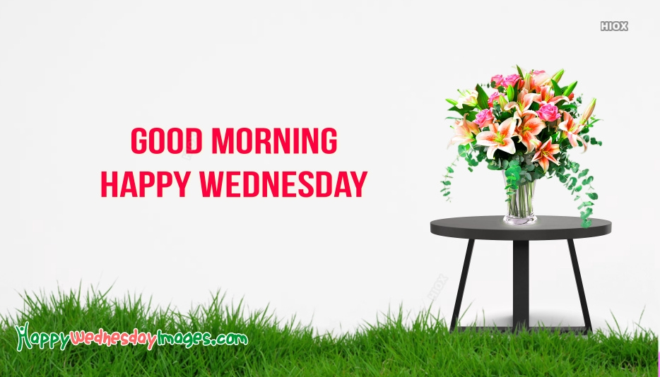 Happy Good Morning Wednesday