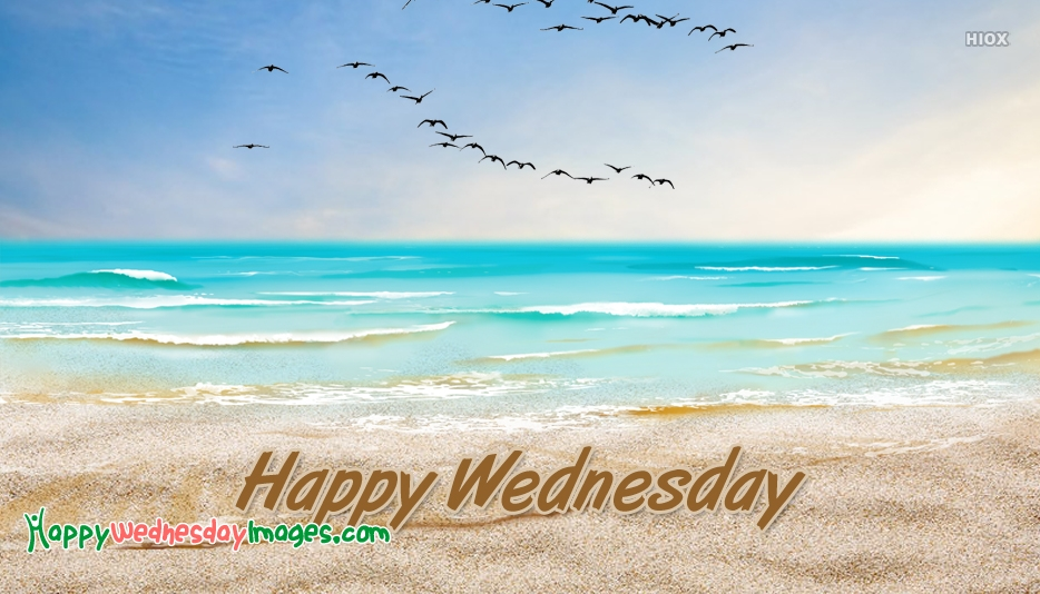 Happy Wednesday Images for Beach