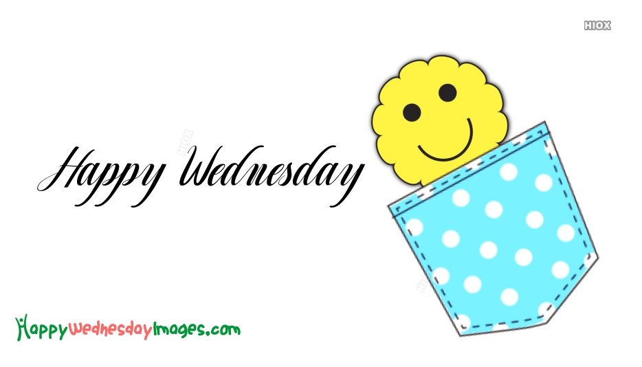 Happy Wednesday Emoticon