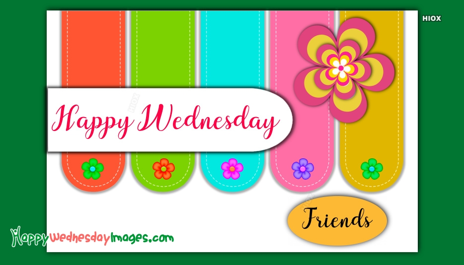 Happy Wednesday Images for Friends