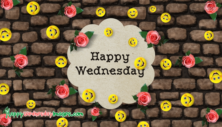 Happy Wednesday Smiley Images