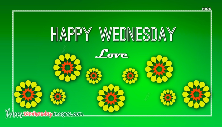 Happy Wednesday Love Images