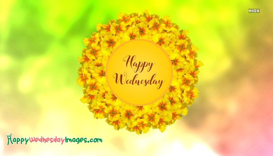 Happy Wednesday Text