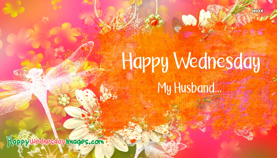 Happy Wednesday Images for Husband