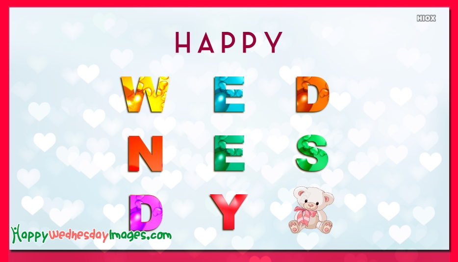 Happy Wednesday Images for Colorful