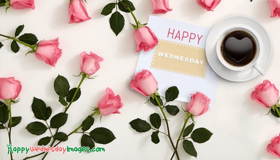 Happy Wednesday with Roses @ HappyWednesdayImages.com