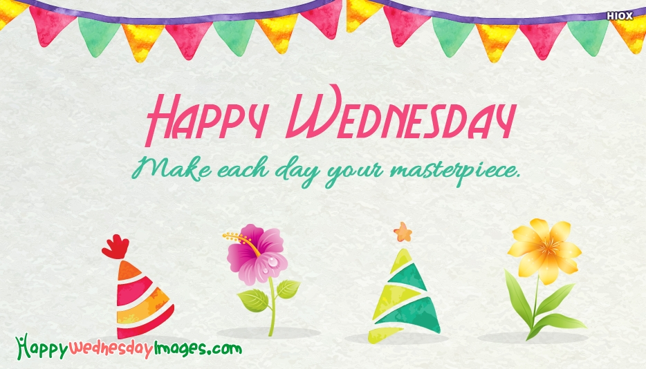 Happy Wednesday Postive Images
