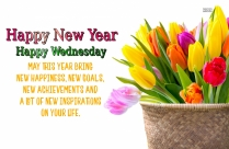 Happy New Year. Happy Wednesday