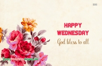 Happy Wednesday Blessings Images