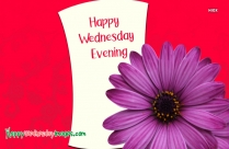 Happy Wednesday Evening Images