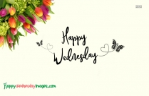 Happy Wednesday Flowers Images
