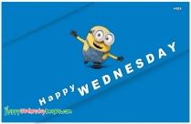 Happy Wednesday Minion
