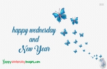 Happy Wednesday New Year Image