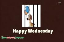 Happy Wednesday Puppy Image